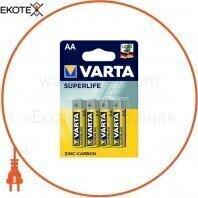 Батарейка VARTA SUPERLIFE AA BLI 4 шт