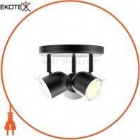 Спотовый светильник MAXUS MSL-01R 3x4W 4100K черный