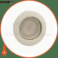 світильник точковий неповоротний DELUX HL16001 50Вт G5.3 хром мат.
