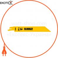 Полотно пильное биметаллическое DeWALT DT2385