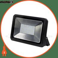 EUROELECTRIC LED Прожектор COB чорний 50W 6500K classic