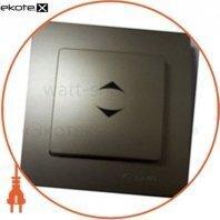 Рамка + клавіша вимикача одноклавішного прохідного