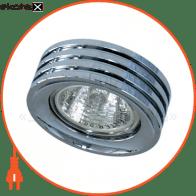 Встраиваемый светильник Feron DL233 хром 18606