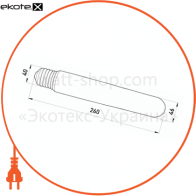 лампа метало-галогенова e.lamp.mhl.e40.400, патрон e40, 400вт