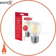 Лампа светодиоднаяG45 FM 7W 4100K 220V E27 Clear