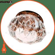 Встраиваемый светильник Feron JD71 прозрачный чайний 18960