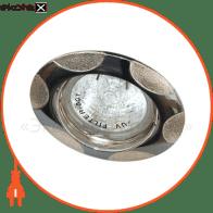 156т под mr-16 хром-серебро пл.поворотный/ chrom/silver