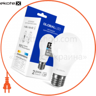 Лампа светодиодная A60 12W 4100K 220V E27 AL
