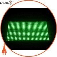 Негерметичный модуль Р10 зелёный