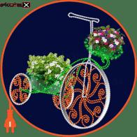 Світлова конструкція Велосипед, 2,5*2,8