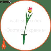 E5206 тюльпан солнечная батарея 1 белый LED (420)
