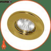 Встраиваемый светильник Feron DL10 золото 15110