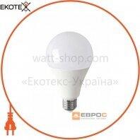 Лампа світлодіодна ЕВРОСВЕТ 18Вт 4200К A-18-4200-27 Е27