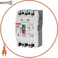 Силовой автоматический выключатель e.industrial.ukm.60S.10, 3р, 10А