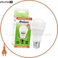 лампа светодиодная DELUX BL60 15Вт 4100K Е27 белый