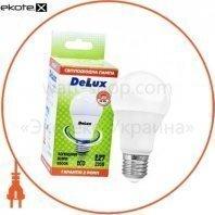 лампа светодиодная DELUX BL60 12Вт 6500K Е27 холодный белый