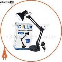Светильник настольный DELUX TF-07_E27 черный