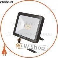 Прожектор світлодіодний ЕВРОСВЕТ 20Вт 6400К EV-20-504 STAND-XL 1600Лм