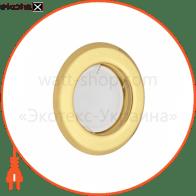світильник точковий неповоротний DELUX HL160011 50Вт G5.3 золото