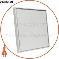 Накладная светодиодная панель 36Вт 220-240В (605ммх605мм*50мм PANEL-B2B 6400K) комплект с рамкой
