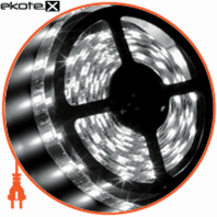 LED 3528, 60 диодов/м, 5м, 12V, блок питания 24W