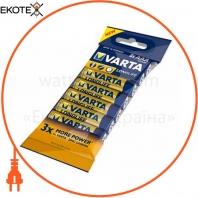 Батарейка VARTA LONGLIFE AAA FOL 8 ALKALINE