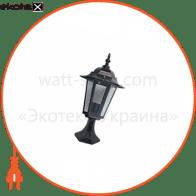 світильник садово-парковий PALACE A04 60Вт Е27 чорний