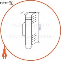 Feron 41154 архитектурный светильник feron dh0807 черный