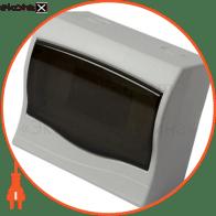 Корпус пластиковий 6-модульний e.plbox.stand.n.06, навісний Multusan