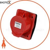 Розетка силовая встроенная ENERGIO 425(3P+PE+N) 32A 380В IP44