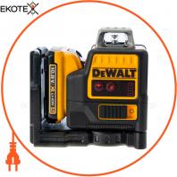 Уровень лазерный линейный DeWALT DCE0811D1R