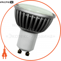 Лампа светодиодная e.save.LED.GU10F.GU10.4.2700, под патрон GU10, 4Вт, 2700К