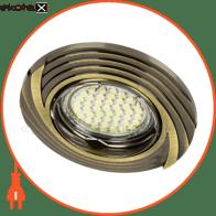 Встраиваемый светильник Feron DL6227 античное золото 30086
