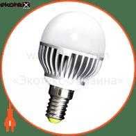 Лампа светодиодная e.save.LED.G45M.E14.5.2700 тип шар, 5Вт, 2700К, Е14