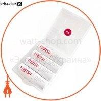 Аккумулятор FUJITSU WHITE Ni-Mh ААА/R03 4шт/уп box