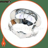 Встраиваемый светильник Feron CD29 прозрачный хром 18983