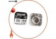 """Оксид-серебряно-цинковые  батарейка Maxell """"таблетка"""" SR41W 1шт/уп"""