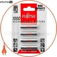 Аккумулятор FUJITSU High Capacity Ni-Mh ААА/R03 4шт/уп blister