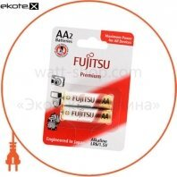 Щелочная батарейка FUJITSU Alkaline Premium АА/LR6 2шт/уп blister