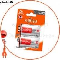 Щелочная батарейка FUJITSU Alkaline Universal Power  D/LR20 2шт/уп blister