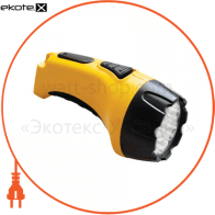 TH2294 аккум.фонарь (TH93В)DC желтый 7 LED