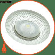 Встраиваемый светильник Feron DL6042 жемчужное серебро 30124
