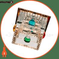 Встраиваемый светильник Feron CD2815 прозрачный золото 28245