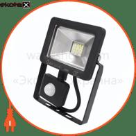 Прожектор з датчиком руху IP65 SMD LED 10W 6400K 500lm 220-240v