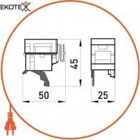 Enext i0040002 расцепитель минимального напряжения e.industrial.ukm.100.qy.380, 380в