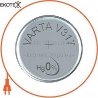 Батарейка VARTA V 317 1 шт