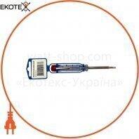 Отвертка-тестер 140х3,0 ELCOR