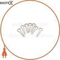 Дюбель - елка (зажим) 10 mm для плоск.каб (100 шт) ELCOR