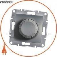 Asfora Светорегулятор поворотный/600RL/двунаправленный (MTN5133-0000), без рамки, стальной