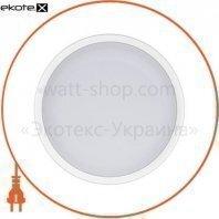 Светильник накладной светодиодный Round Т-15-15 15W 6000К IP54 белый 26-0049